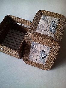 Košíky - Úložný box - 8582358_