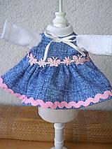 - Šatočky pre bábiky- veľ-25- 27 cm - 8581576_
