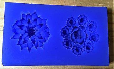 Pomôcky/Nástroje - Silikónová forma - kvety 2 - 8585499_