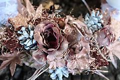 Dekorácie - Adventný venček - 8584396_