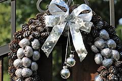 Dekorácie - Vianočný venček - 8585557_