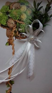 Pierka - svadobné pierko krušpán - 8584084_