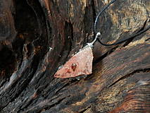 - Ohnivý talizman (ohnivý opál v materskej hornine) - 8585268_