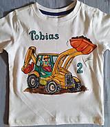 Detské oblečenie - pre malého bagristu :-) - 8585559_