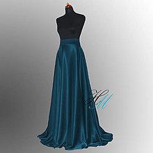 Sukne - Sukňa kruhová so širokým pásom a vreckami rôzne farby - 8584680_