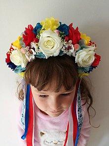 Ozdoby do vlasov - Parta folklorna - 8584362_