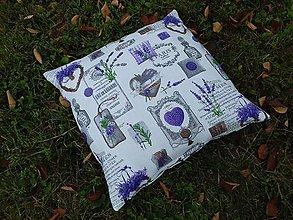 Úžitkový textil - Obliečka na vankuš Lavender... - 8587714_