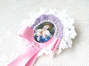 Odznaky/Brošne - Madame Fragonard (brooch) - 8588337_