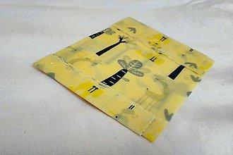 Úžitkový textil - beEco PACK - náhrada potravinovej fólie 100% eko - 8589323_