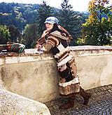 Kabáty - čoko-smotanový kabátosveter - 8586724_