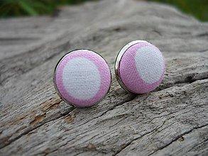 Náušnice - Náušnice Buttonky Sweet Dots - 8586861_