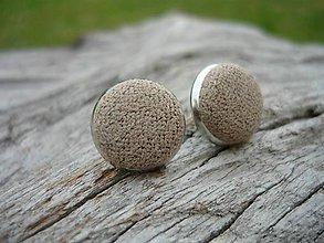 Náušnice - Náušnice Buttonky Elegant Dots - 8588347_