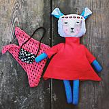 Hračky - bábika. - 8587595_