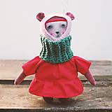 Hračky - bábika. trochu iná. - 8587645_