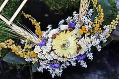 Dekorácie - Srdiečko na Dušičky - 8587216_