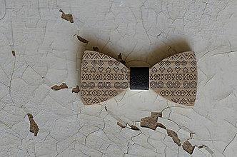 Doplnky - Drevený motýlik /Čičmany - 8587321_