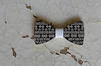 Doplnky - Drevený motýlik /Čičmany - 8587322_