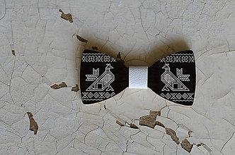 Doplnky - Drevený motýlik /Čičmany - 8587343_