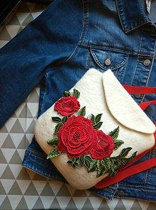 Batohy - Ruksak Ruže na snehu - 8589292_