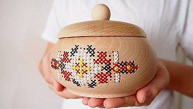 Nádoby - Nádoba Baňatý - na sušený sypaný čajík FOLK - 8589442_