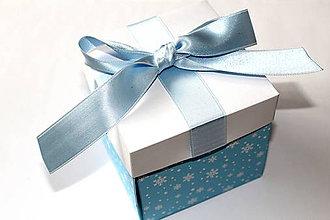 Krabičky - Vianočná nádielka (Sneží) - 8588583_