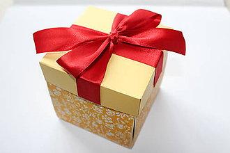 Krabičky - Vianočná nádielka - 8588653_