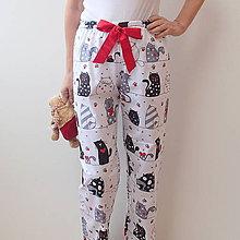 Pyžamy a župany - Veselé pyžamové kalhoty - 8588437_