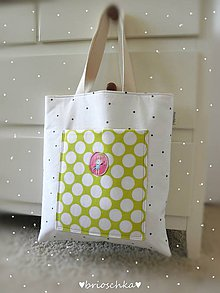 Nákupné tašky - taška s ružovým zajom - 8587315_
