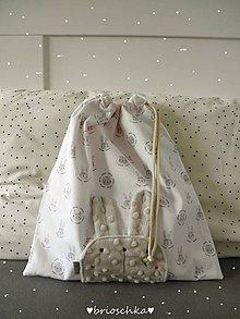 Detské tašky - vrecúško nežné - 8587465_