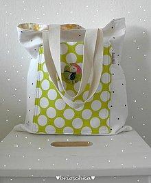 Nákupné tašky - taška so zajdom - 8587636_