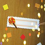 Papiernictvo - Ozdobné menovky na darček - 8587287_