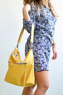 Veľké tašky - Felicity (horčicová) - 8592777_
