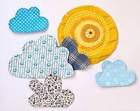 Materiál ručne robený - Nášivky alebo dekorácia do detskej izby - 8593803_