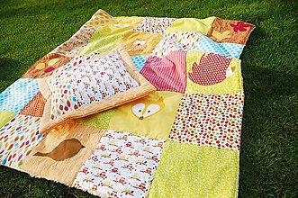 Textil - Deka na hranie - Jeseň - 8591173_