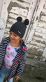 Detské čiapky - Mickey mouse čiapka  - 8592542_