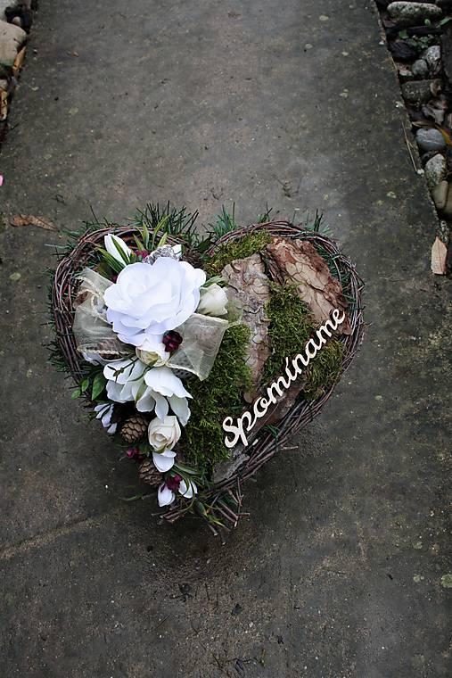 af209e644 Srdce na hrob / EriNik - SAShE.sk - Handmade Dekorácie