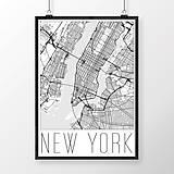 Obrazy - NEW YORK, moderný, biely - 8592583_