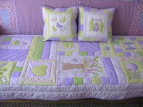 Úžitkový textil - súprava do dievčenskej izby - 8592179_