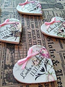 Darčeky pre svadobčanov - magnetky s ornamentom 2 - 8594281_
