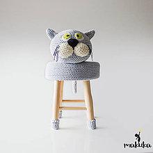 Úžitkový textil - Mačička Líza - 8591160_