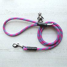 Pre zvieratká - Lanové vodítko ORIGINAL // wild purple 9.5 mm - 8593631_