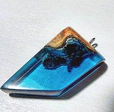 Náhrdelníky - Modrý šperk - 8590962_