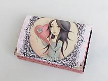 Peňaženky - Dívka I. - malá i na karty - 8591281_