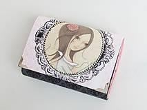 Peňaženky - Dívka II. - malá i na karty - 8591288_