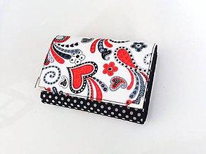 Peňaženky - Když ji miluješ - menší peněženka i na karty - 8590750_