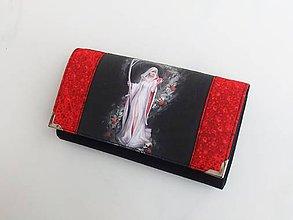 Peňaženky - Death - 17 cm i na karty - 8591104_