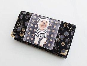 Peňaženky - Náš pes námořníkem - 17 cm i na karty - 8591250_