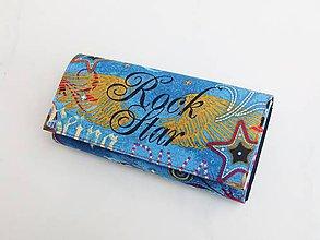 Peňaženky - Rock Star - 19 cm i na karty - 8591272_