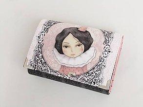 Peňaženky - Dívka III. - malá i na karty - 8591308_