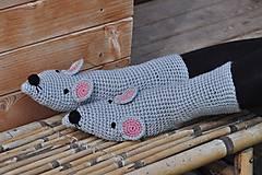 Obuv - Myškové ponožky - 8592954_
